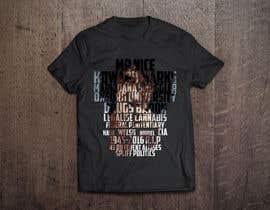 Nro 5 kilpailuun Illustrate Typography portrait for t-shirt käyttäjältä web6021