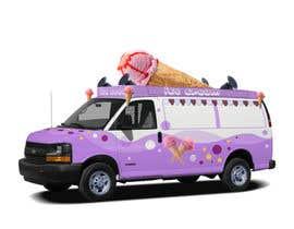Nro 10 kilpailuun Ice cream van design käyttäjältä Bacvu