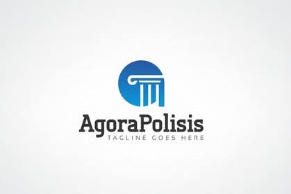 #61 for Design a Logo for the name agorapolisis by sanjiban