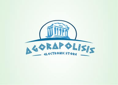 #29 for Design a Logo for the name agorapolisis by lNTERNET