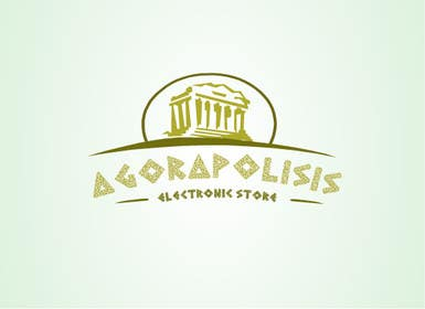 #30 for Design a Logo for the name agorapolisis by lNTERNET