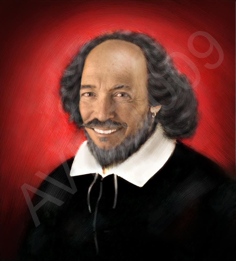 Penyertaan Peraduan #                                        27                                      untuk                                         Make my boss look like William Shakespeare