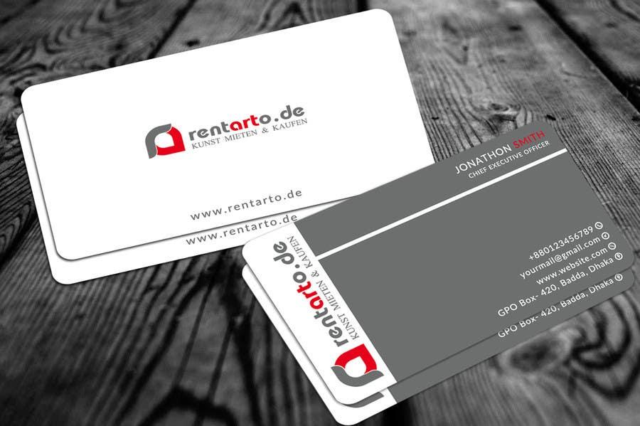 Entry 15 By Smjahids24 For Design Von Visitenkarten
