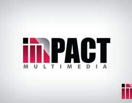 #179 for Logo Design for Impact Multimedia by dorponDotNet