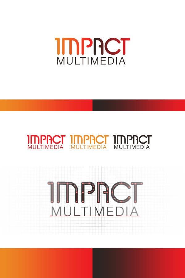 Конкурсная заявка №116 для Logo Design for Impact Multimedia