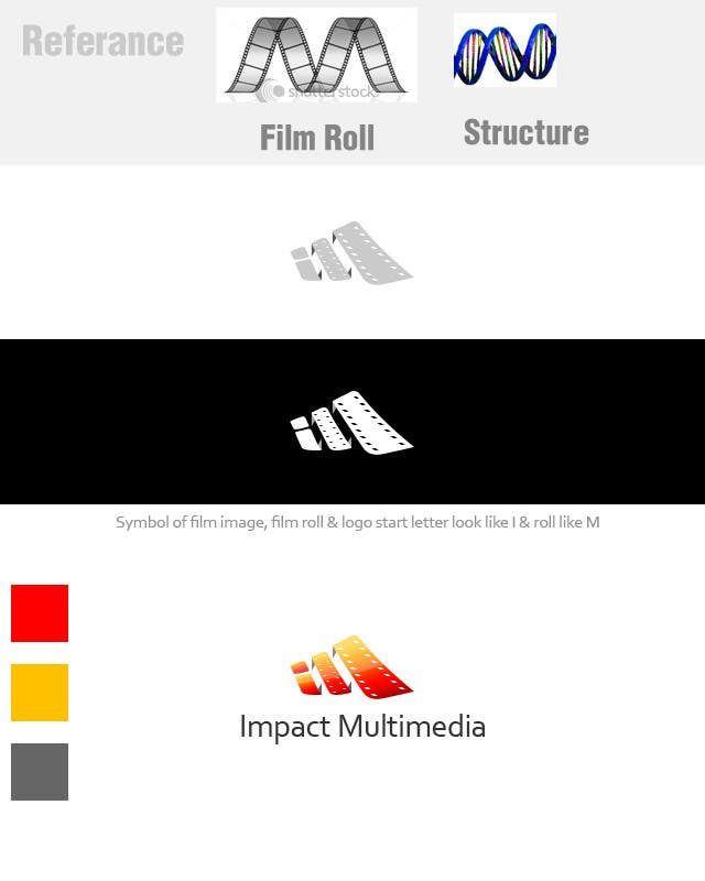Конкурсная заявка №208 для Logo Design for Impact Multimedia