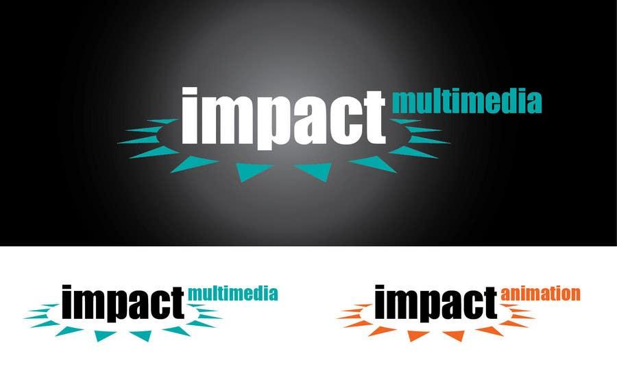 Конкурсная заявка №221 для Logo Design for Impact Multimedia