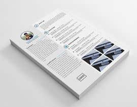 Nro 8 kilpailuun Graphic Design for Resume Template käyttäjältä mdakasabedin