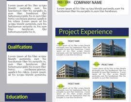 Nro 26 kilpailuun Graphic Design for Resume Template käyttäjältä jhosser