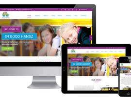 Nro 23 kilpailuun Design Website Homepage käyttäjältä webmastersud