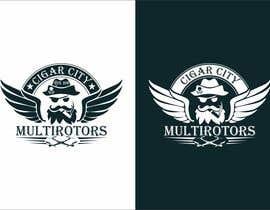 """Nro 8 kilpailuun LOGO DESIGN FOR """"CIGAR CITY MULTIROTORS"""" käyttäjältä edso0007"""