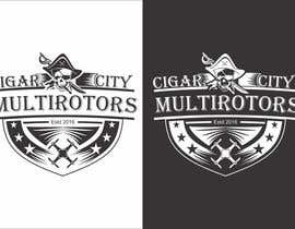 """Nro 22 kilpailuun LOGO DESIGN FOR """"CIGAR CITY MULTIROTORS"""" käyttäjältä edso0007"""