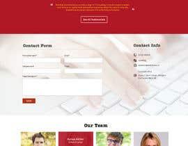 Nro 16 kilpailuun Design site template, home page, and product page for live escape room business käyttäjältä Ganeshdas