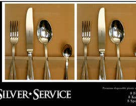 nº 21 pour Logo Design for Premium Disposable Cutlery - Silver Service par Grupof5