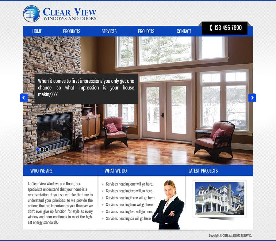 Contest Entry 11 For Office 365 Website Template