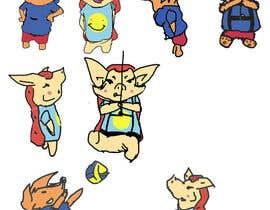 Atmosk tarafından A mascot duo for a climbing playground için no 16