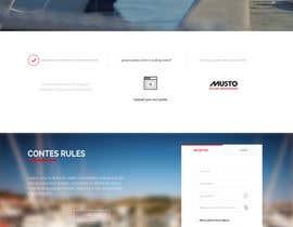 Nro 24 kilpailuun Design a Landing Page for an online Contest käyttäjältä farhanfauzan