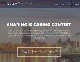 Nro 1 kilpailuun Design a Landing Page for an online Contest käyttäjältä edisontoh