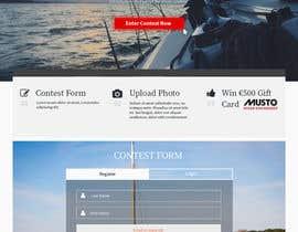 Nro 15 kilpailuun Design a Landing Page for an online Contest käyttäjältä hudha09
