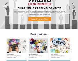 Nro 4 kilpailuun Design a Landing Page for an online Contest käyttäjältä jituchoudhary