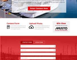 Nro 20 kilpailuun Design a Landing Page for an online Contest käyttäjältä jituchoudhary