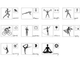#9 for Illustration concept - Fitness, Physical Performance Factors by karmachela