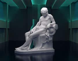 bodi4ka08 tarafından Render statue in futuristic environment için no 32