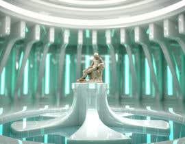 ScrmingMnkyAnim tarafından Render statue in futuristic environment için no 40