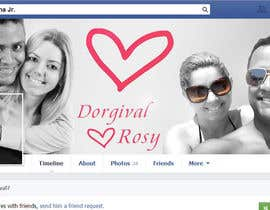 ahmedzaghloul89 tarafından Design a Facebook Cover for a Couple with photos için no 22