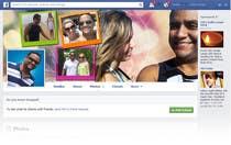 Contest Entry #19 for Design a Facebook Cover for a Couple with photos