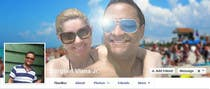 Contest Entry #1 for Design a Facebook Cover for a Couple with photos