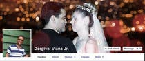 Contest Entry #54 for Design a Facebook Cover for a Couple with photos
