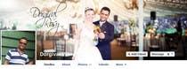 Contest Entry #69 for Design a Facebook Cover for a Couple with photos