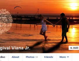 vishnuremesh tarafından Design a Facebook Cover for a Couple with photos için no 70