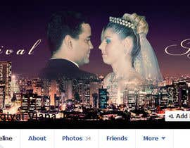 vishnuremesh tarafından Design a Facebook Cover for a Couple with photos için no 77