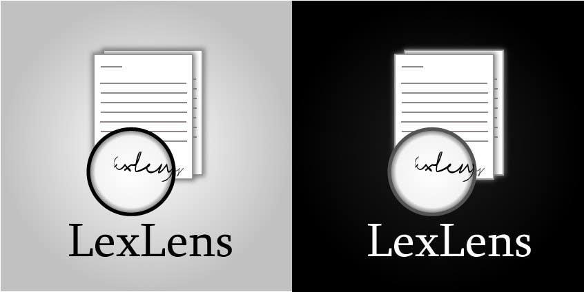 Inscrição nº 80 do Concurso para Design a Logo for LexLens