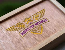 #56 for Logo Design (The King of Wings) by Mustafawadiwala