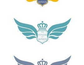 #29 for Logo Design (The King of Wings) by gbeke
