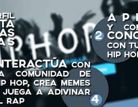 Nro 2 kilpailuun Diseñar una portada para Facebook, pagina de Hip Hop käyttäjältä luciaSN