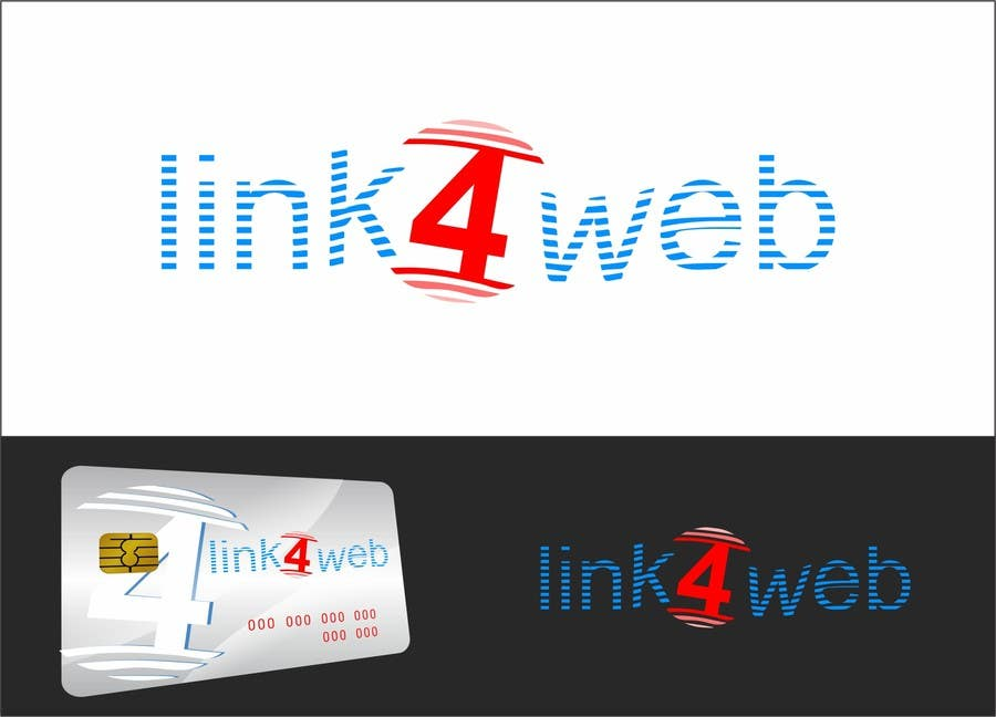 #56 for Design a Logo for Link4Web website by airbrusheskid