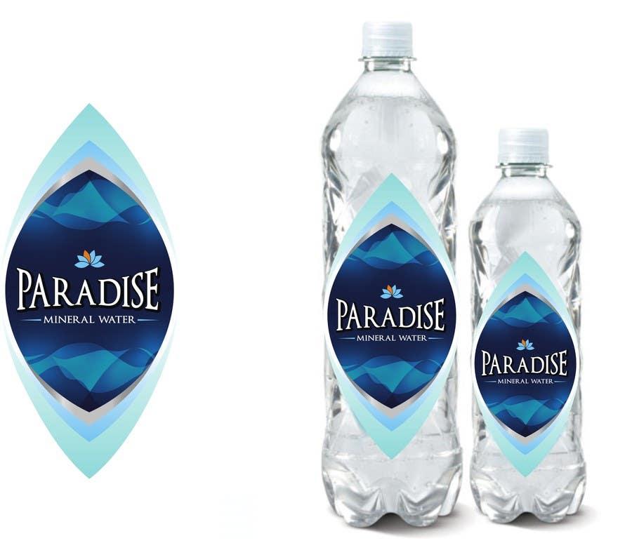 Inscrição nº 386 do Concurso para Label design and shrink pack for bottled water