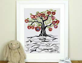 Nro 28 kilpailuun Family Tree Poster käyttäjältä bharmalcreation