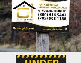 Nro 11 kilpailuun Design a Construction job site sign käyttäjältä TDuongVn