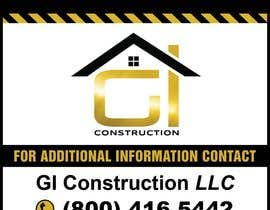 #14 for Design a Construction job site sign by teAmGrafic