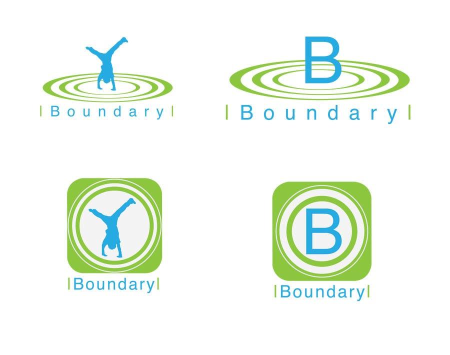 "#8 for Design a Logo for a website/ app ""Boundary"" by afedercip"