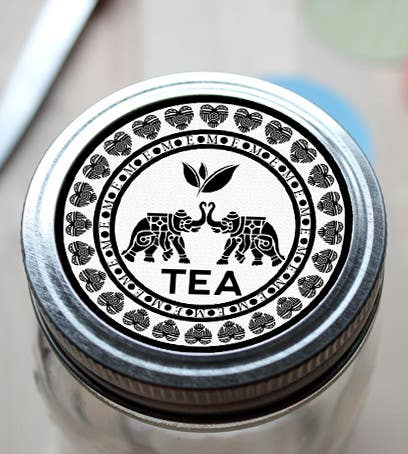Konkurrenceindlæg #43 for Design a Logo to use on a tea label for a wedding gift