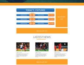 Nro 12 kilpailuun Create one page PSD Design käyttäjältä diptobiswasiu