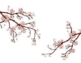 #7 for Wall decal design - Trees and Flowers af elenabsl