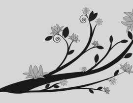 #23 cho Wall decal design - Trees and Flowers bởi Simo23