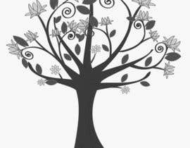 #25 cho Wall decal design - Trees and Flowers bởi Simo23